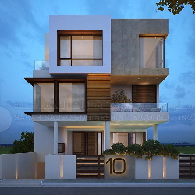 Private Villa Sarah Sadeq Architects Kuwait: Luxury Private Villa In #Kuwait By Sarah Sadeq Architects