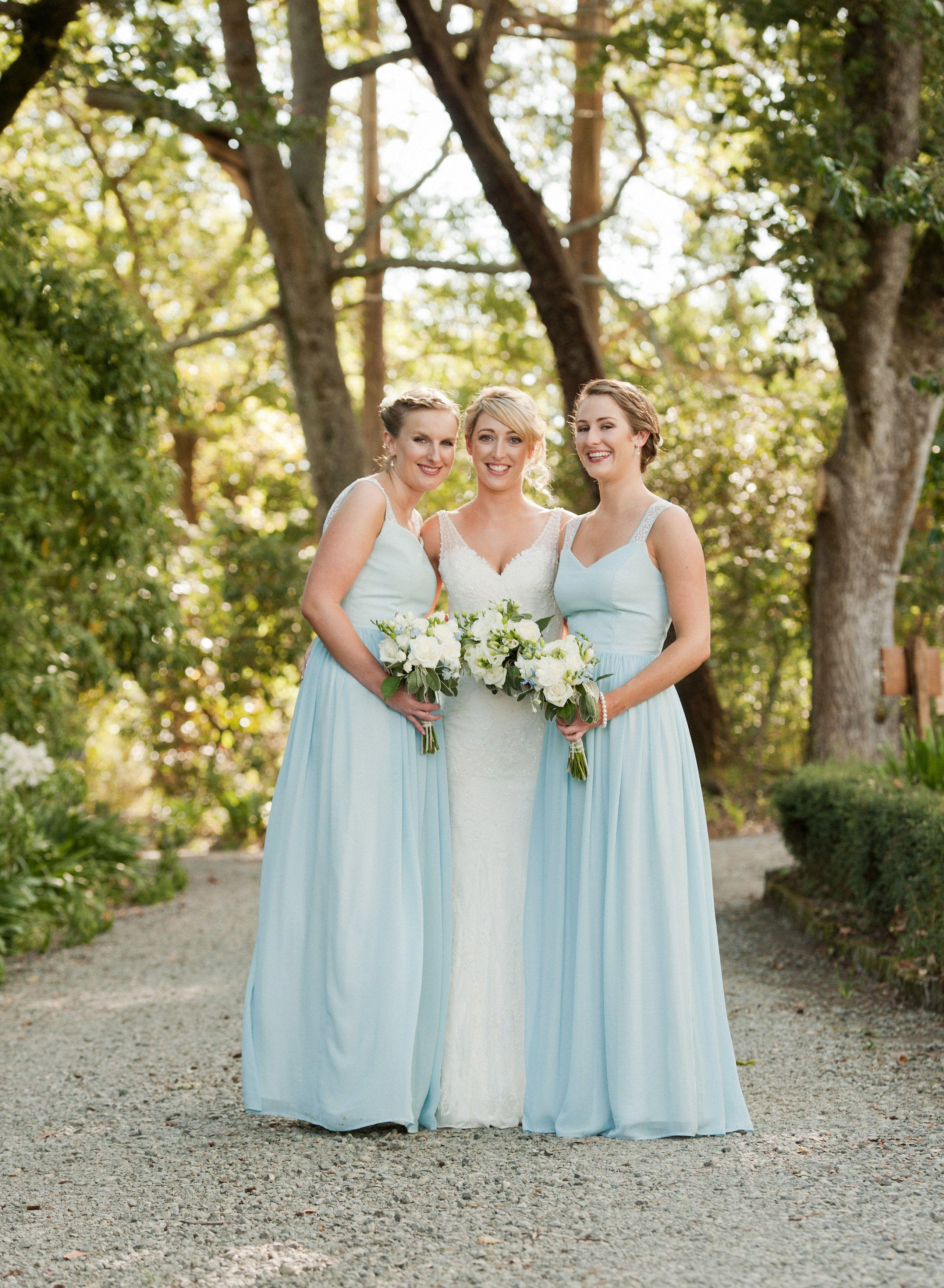 dc727e27a1171 Beautiful bridesmaids wearing our Elina dress
