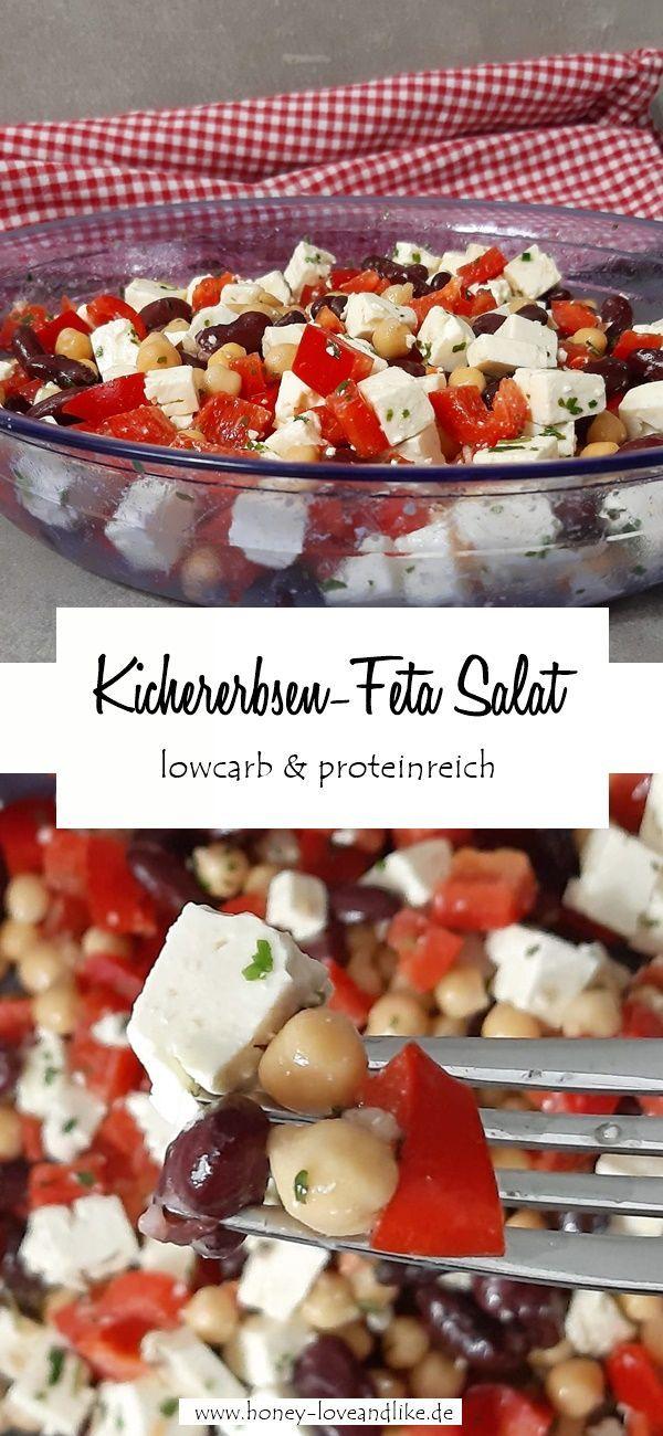 Honey  Lifestyleblog Der Lowcarb Mexiko Salat mit Kichererbsen ist wieder ein Blitzrezept denn du brauchst für die Zubereitung nur 510 Minuten Dieser Salat ist schne...