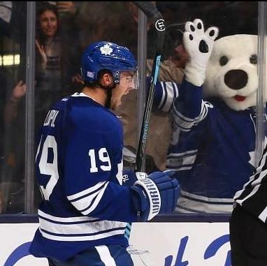 Joffrey Lupul Toronto maple leafs, Hockey goal, American