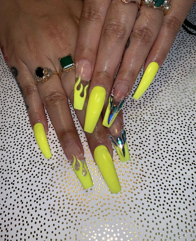 Check Out Simonelovee Long Acrylic Nails Nail Designs Nails