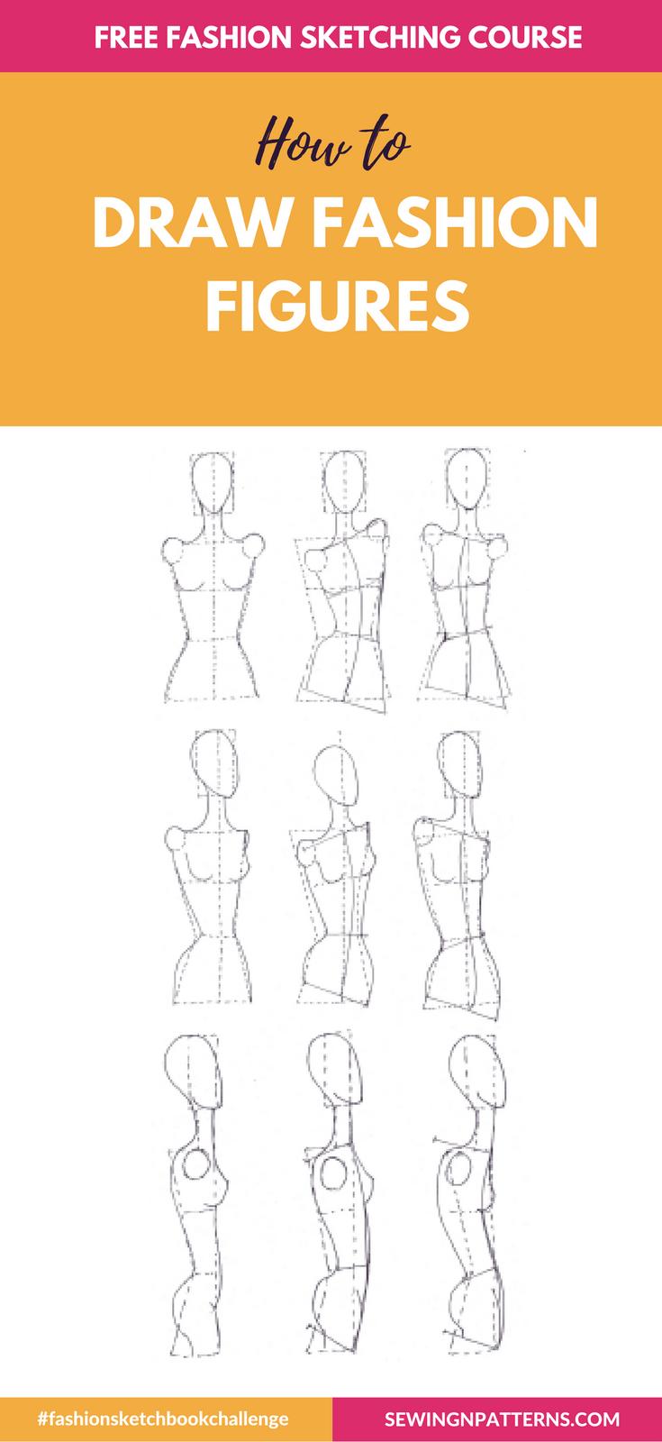 Wanna Make Fashion Design Sketches Wonder How Fashion Designer Sketches Are Made Join This Free Online Moda Karalamalari Karalama Defteri Fikirleri Clip Art