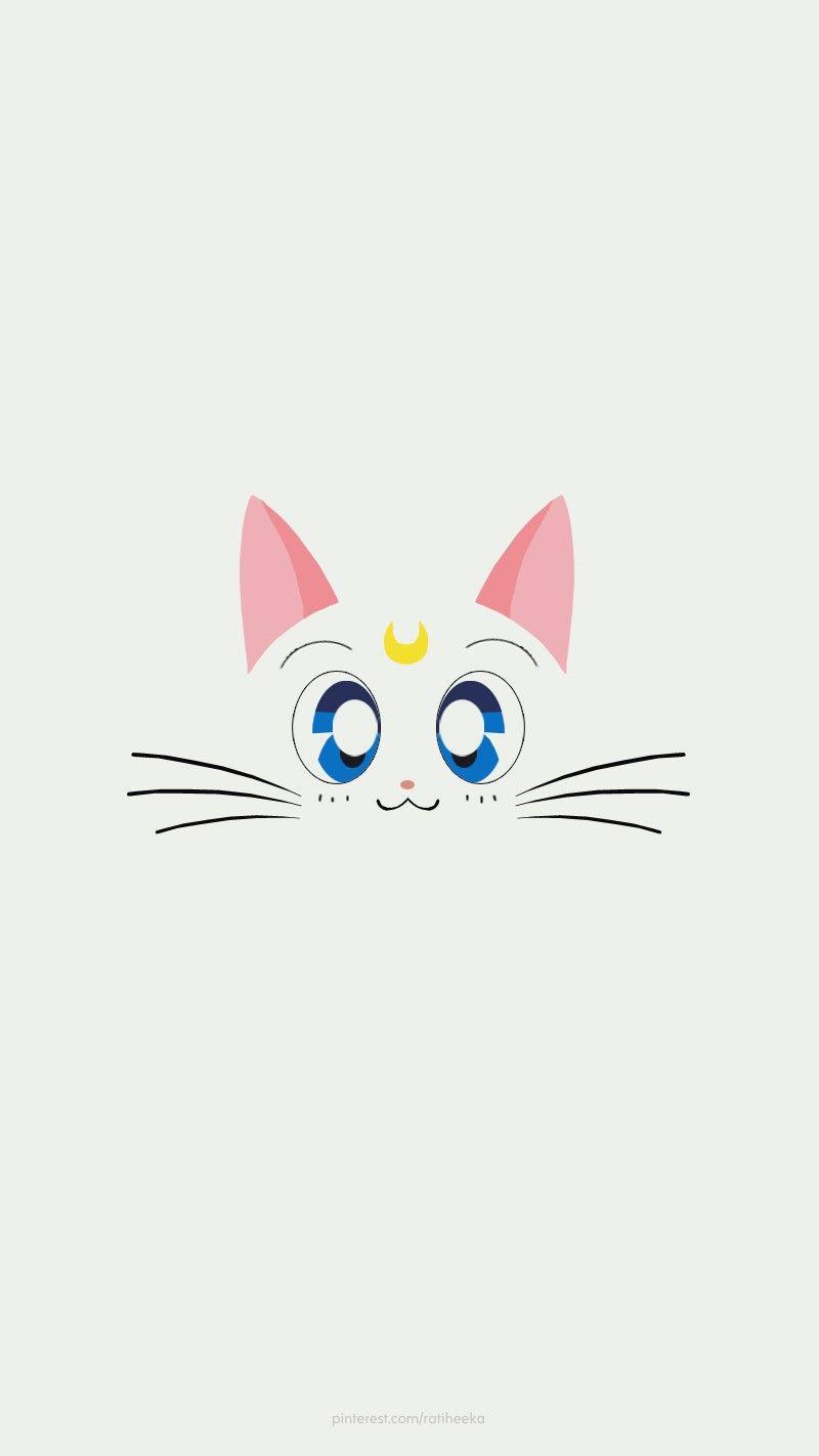 Sailormoon Artemis Wallpaper Japan Anime Cartoon Cat
