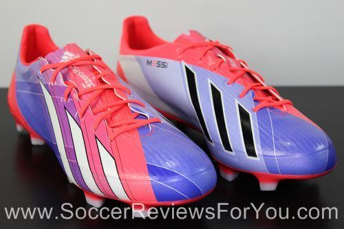 new styles 91120 f3ec7 Adidas F50 adizero miCoach 2 Synthetic Messi Review