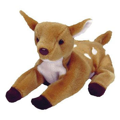 aa20dccd839 Check out the deal on TY Beanie Baby - WHISPER the Deer (6.5 inch) at  BBToyStore.com - Toys