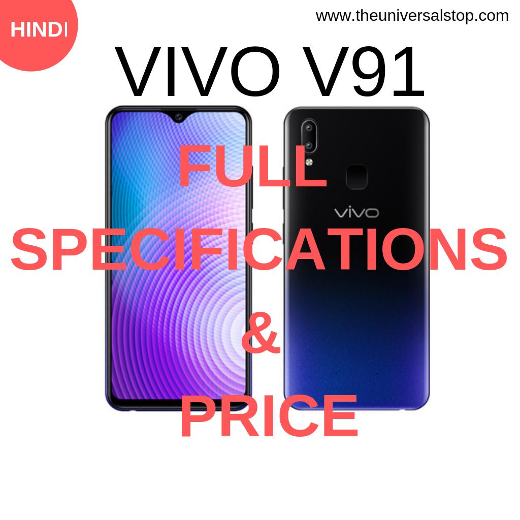 Vivo V91 Full Specifications & Price Vivo, Information