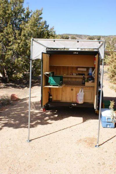 5X10 Cargo Trailer Camper