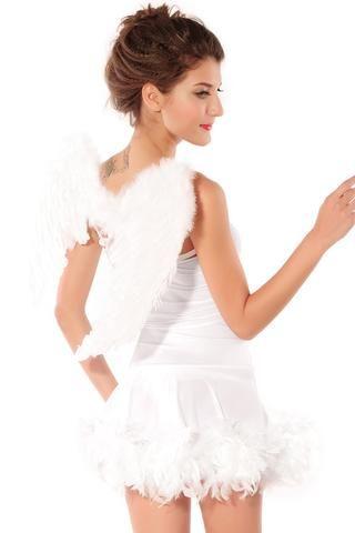 Adult Sexy Angel Halloween Costume LAVELIQ Halloween Costumes - angel halloween costume ideas