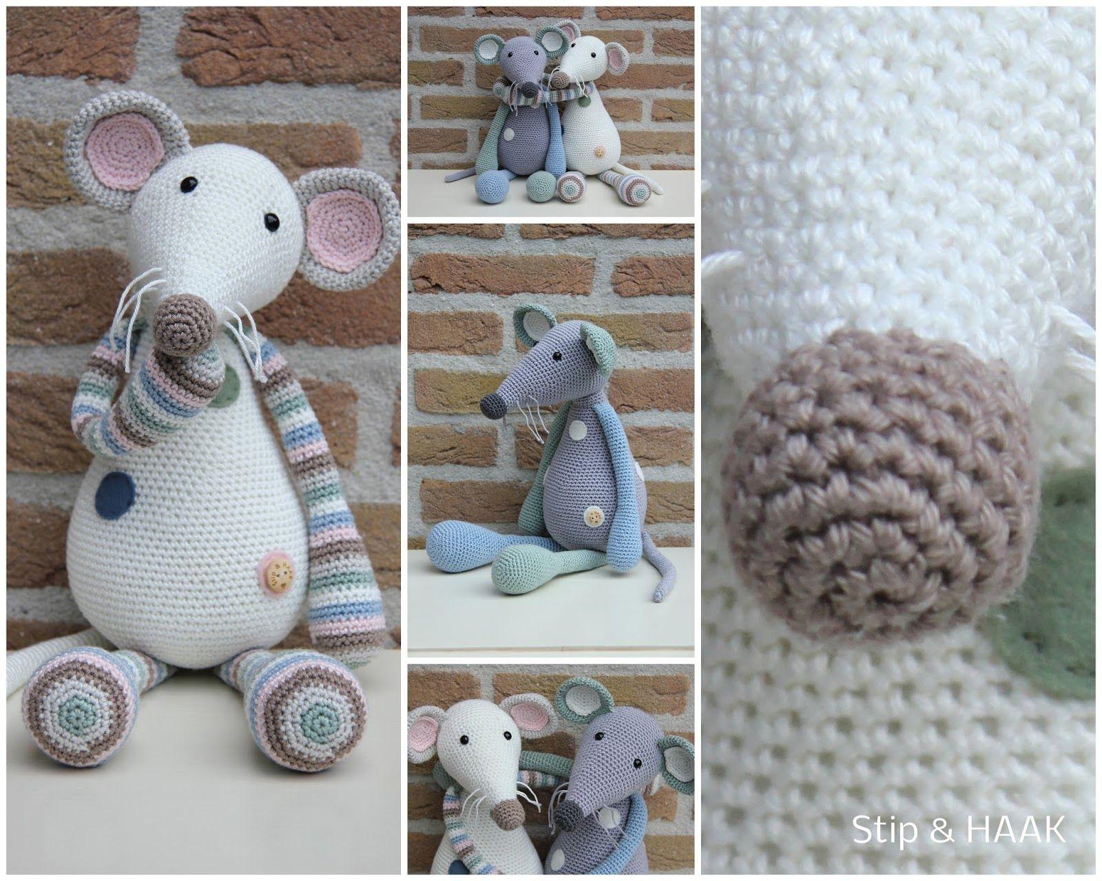 Stip & HAAK: Mijn patronen | crochet | Pinterest | Animales tejidos ...