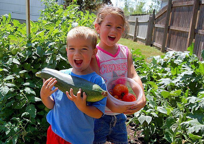 gardening a family affair