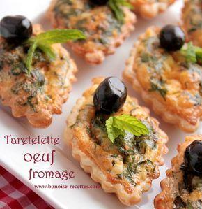 entree pour ramadan/tartelettes fromage oeuf