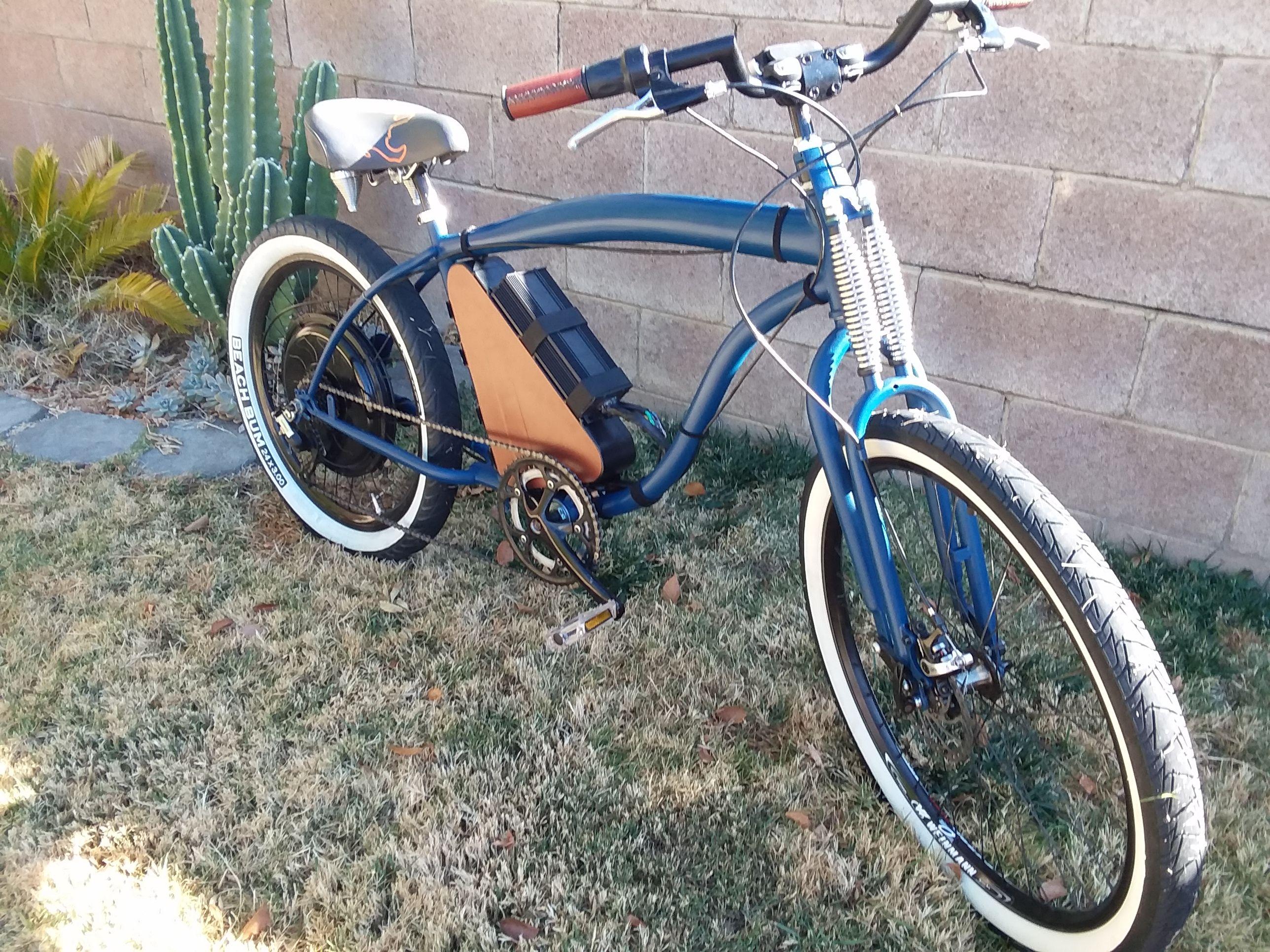 Ebike Beach Cruiser Electric Bicycle Conversion Bicycle Electric Bicycle Ebike
