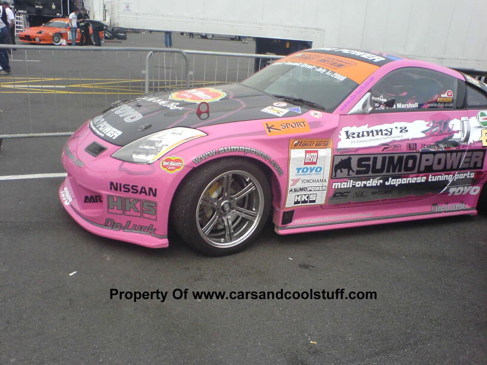 Com Photos And Video Photo Gallery Sumo Power Nissan 350z Pink Nissan 350z Nissan Toy Car