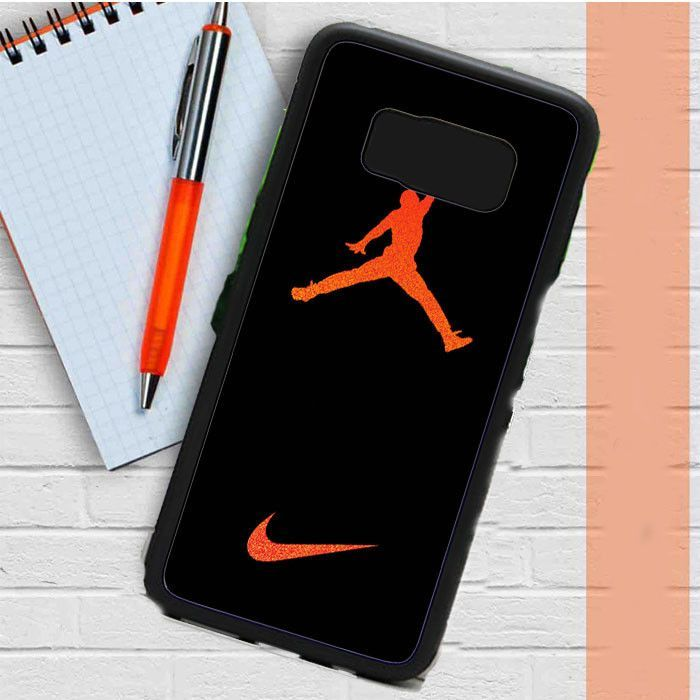 timeless design d3758 19558 Nike Air Jordan Jump Man Air Samsung Galaxy S8 Plus Case Dewantary ...