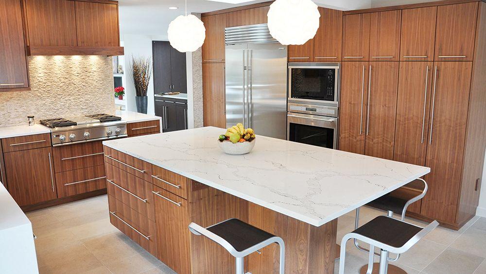 Best Calacatta Nuvo Whit Quartz Kitchen Countertops Best