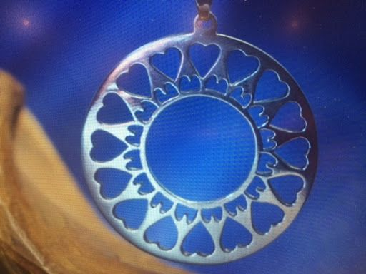 invoke your greatest intention with love and this pendant will gather the light to bring forth your manifestation in perfect divine timing. Silver is a refractor of frequency. It enhances light love compassion. Healing rejuvenation and more. This pendant was created with love and oneness therefore it expands those intentions naturally…