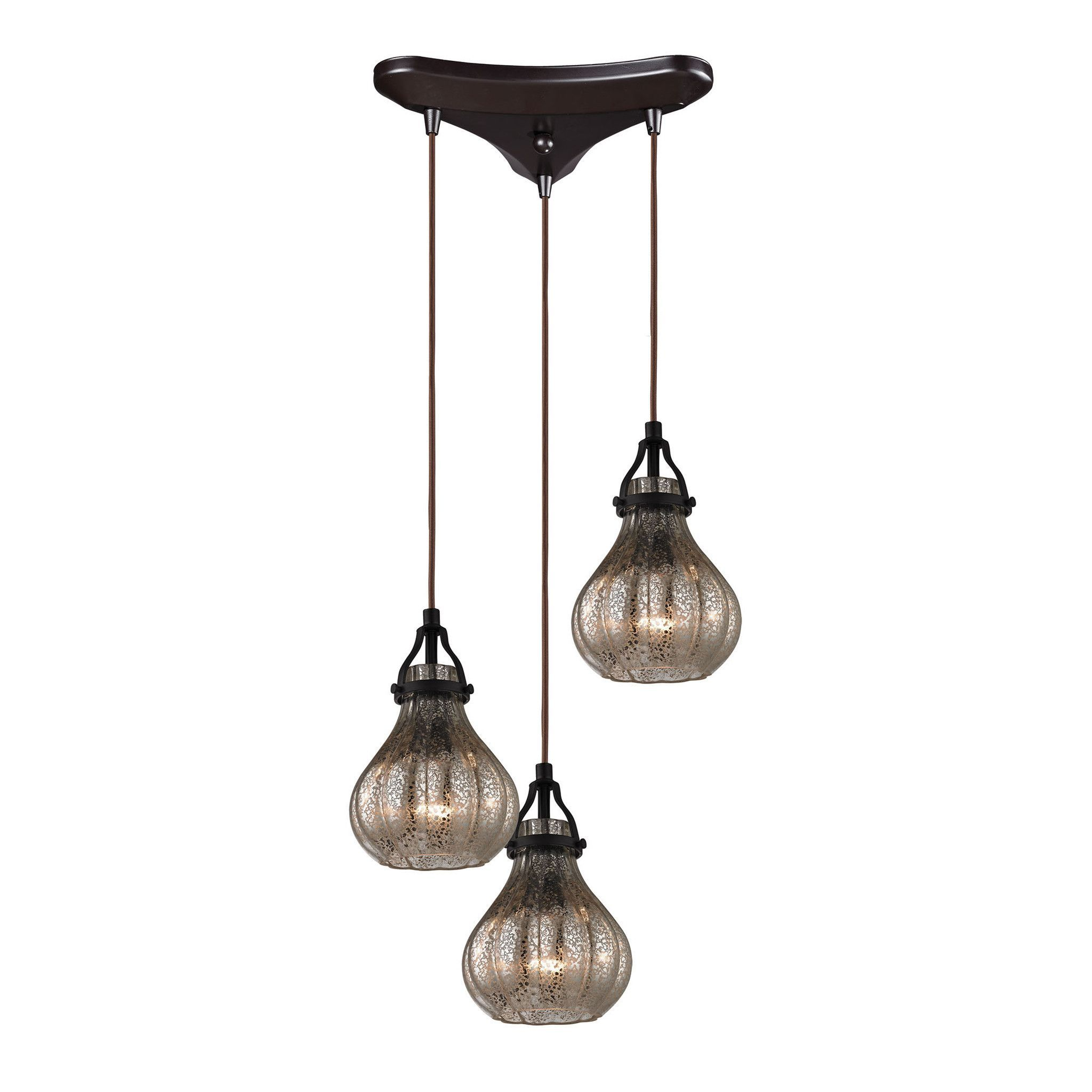 ELK Lighting 46024/3 Danica Collection Oil Rubbed Bronze Finish