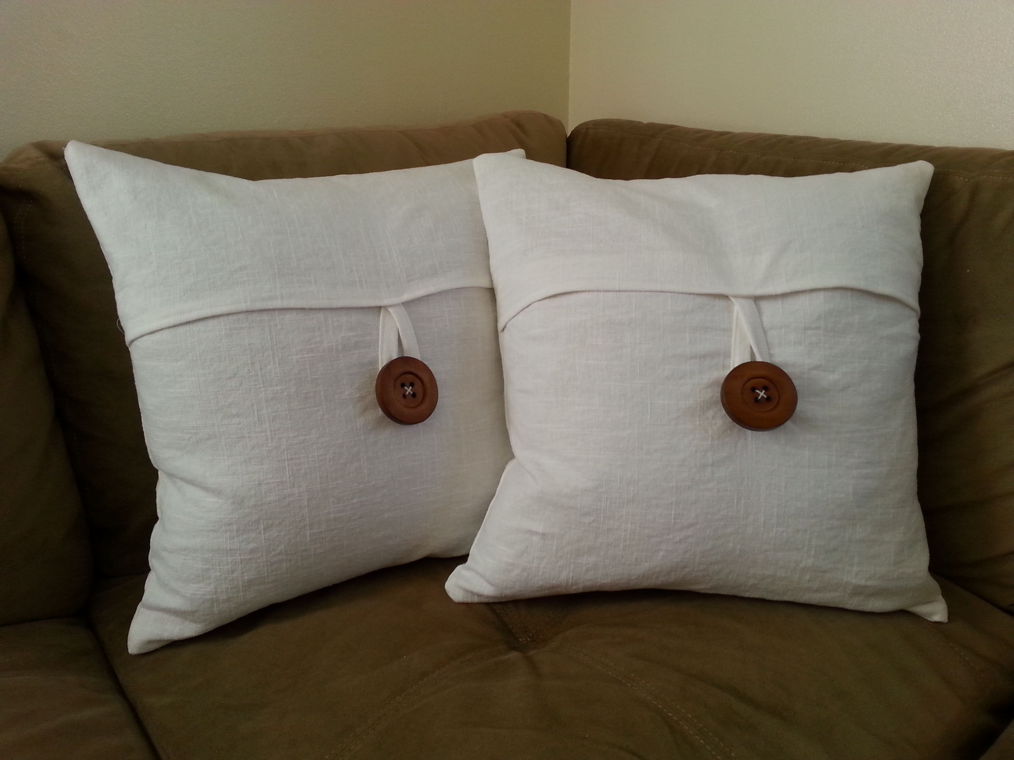 How To Sew Your Own Pottery Barn Linen Envelope Pillow