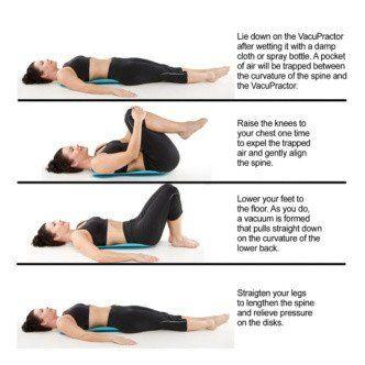 Amazon com: VacuPractor - Back Pain Relief Device  A