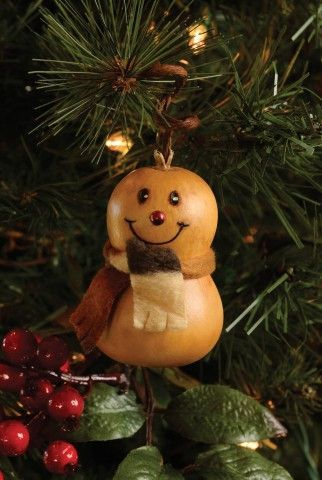 Meadowbrooke Gourds Ornament-Flake