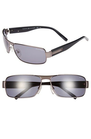 Tommy Hilfiger 65mm Metal Sunglasses