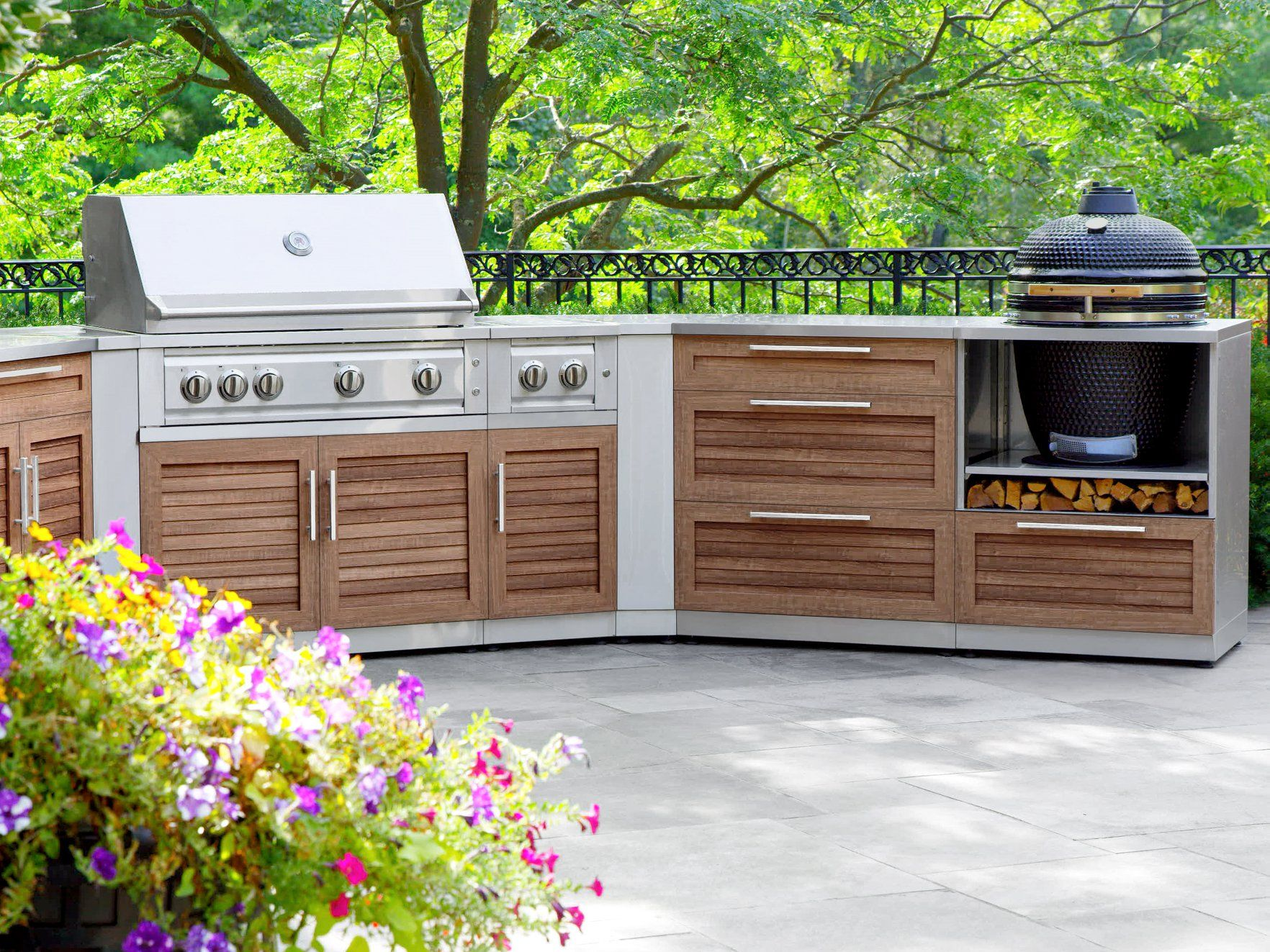 Newage Products Outdoor Kitchen Stainless Steel Series In 2020 Outdoor Kitchen Cabinets Outdoor Kitchen Outdoor Kitchen Plans