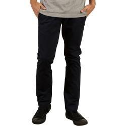 Volcom Mens Frickin Skinny Chino Schwarz Chino Herren Casual Pants