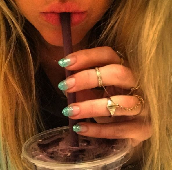 Manicure Na Sylwestra 2015 2016 Manicure Beauty Fashion