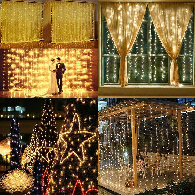 Merry Xmas LED Light String White Indoor Christmas Decoration