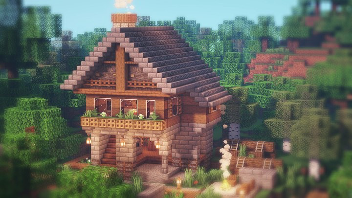 Aesthetic Minecraft Houses