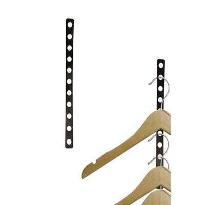Nahanco Plastic Display 11 Slot Hanger Strip Organizer Door Shoe Organizer Hanger Clothes Hanger