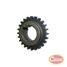 """Crankshaft Sprocket.   Replaces Part #: 53020443. Fits: All Jeeps (1994-2006) w/ 4.0L; Sprocket tooth thickness = .40""""."""