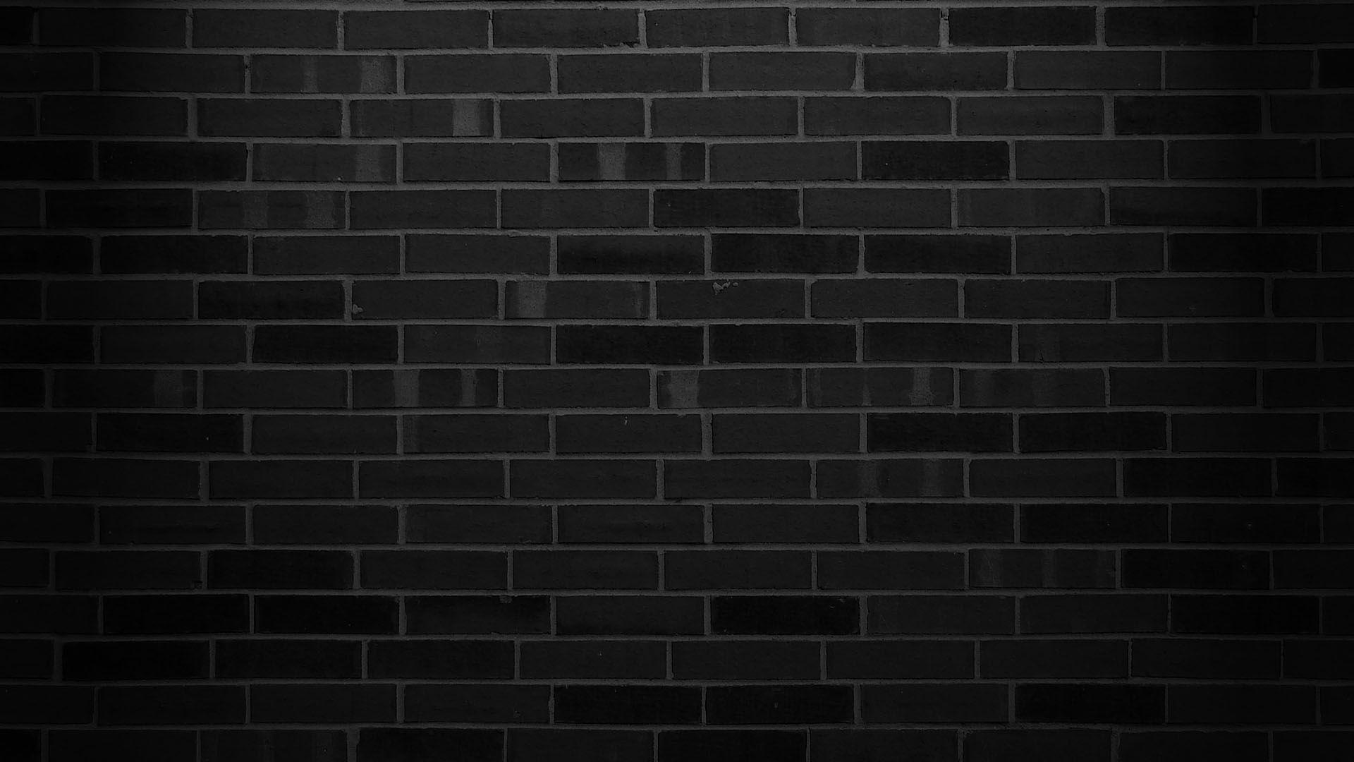 Bricks wallpaper Brick wall wallpaper, Black brick