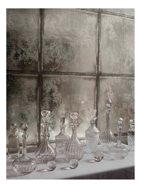 Cole Son Albery Wallpaper Silver 94 4019 Mirrored Wallpaper Modern Wallpaper Cole And Son Wallpaper
