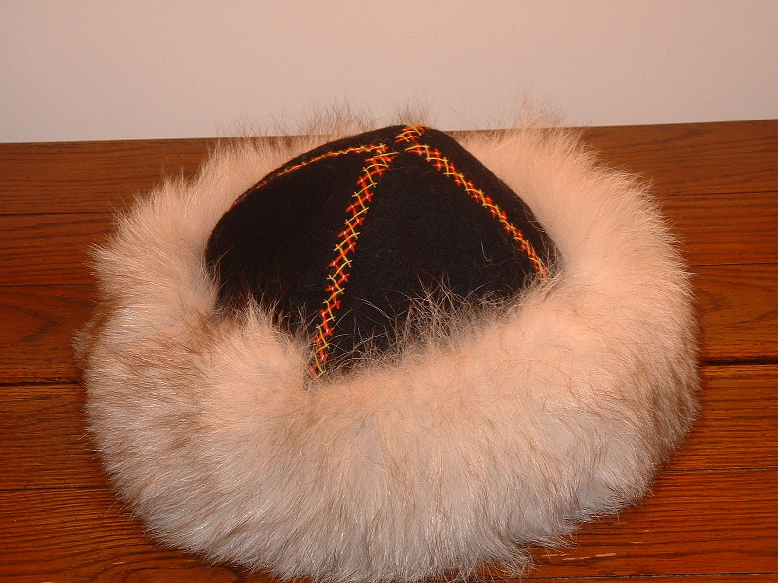 0373e348 Viking hat (Birka cap) 4 piece cap. Recently I worked on a Viking ...
