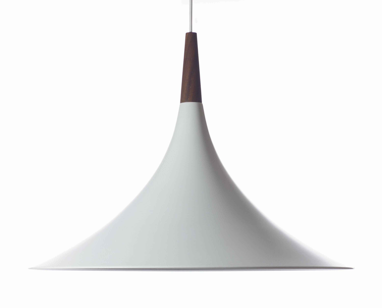 Danish Design Teak White Pendant Lamp Extraordinary Xl