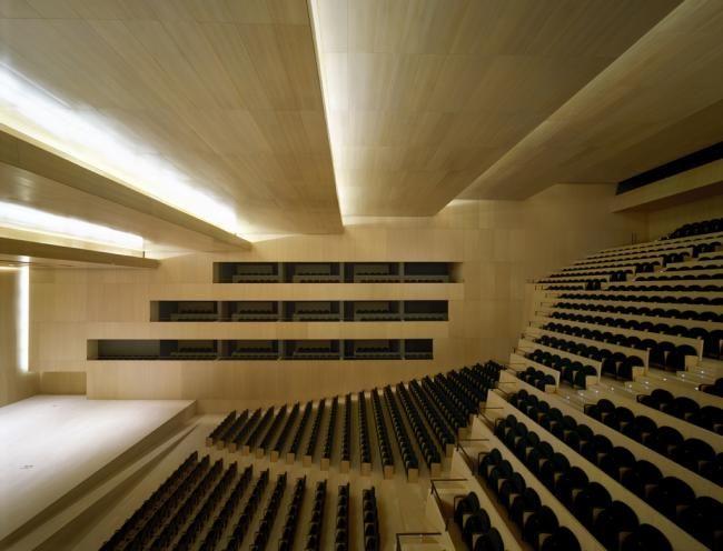 Auditorio y palacio de congresos de castell n sanahuja for Escuela arquitectura donostia
