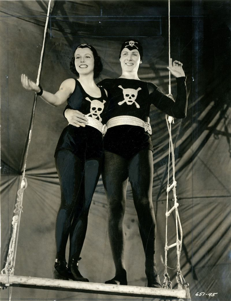 This is from the 1937 film CIRCUS GIRL. That's Betty Compson on the left.   (This picture links to the film on youtube)