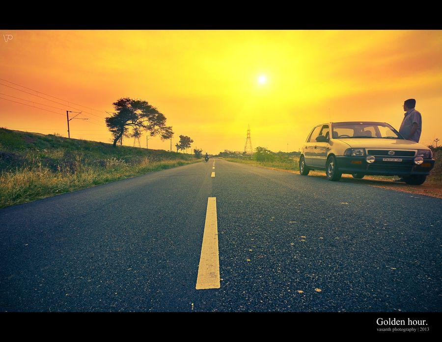 Golden hour. by Vasanth Kumar on 500px