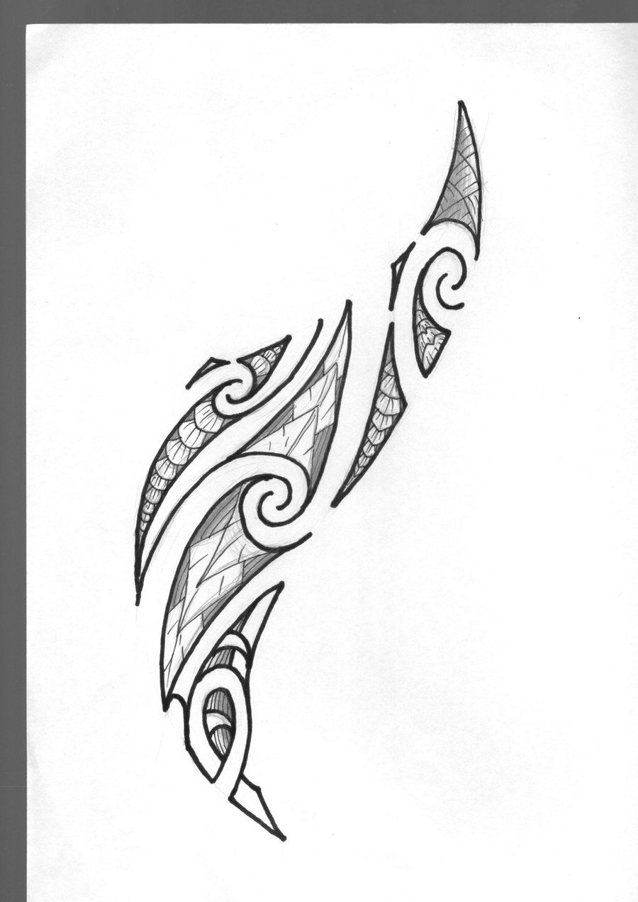 55 Best Maori Tattoo Designs Meanings: Maori Tattoo By Marino-art.deviantart.com