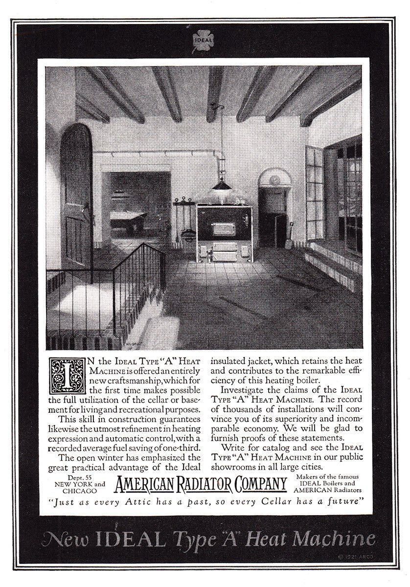 Pin By J E Hart On Vintage Ads Heating And Cooling With Images