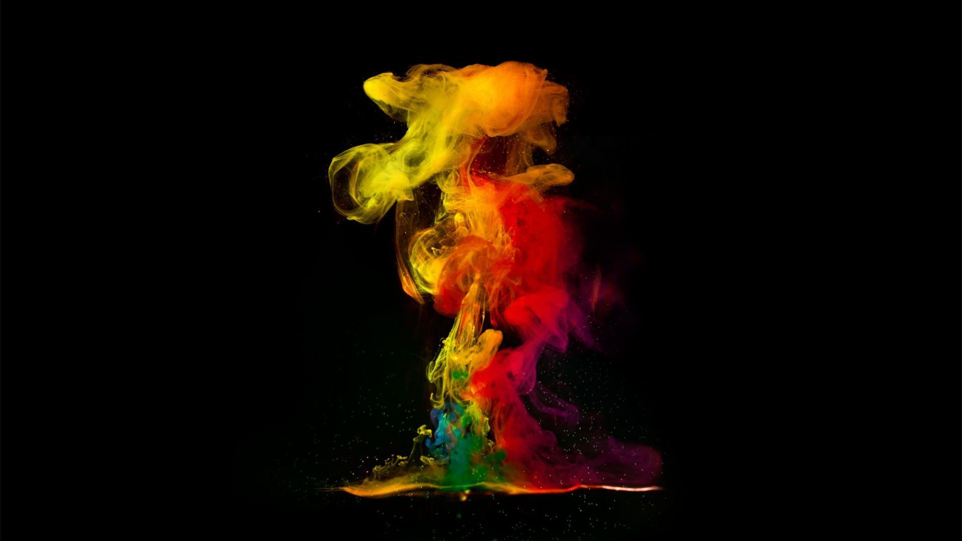 3d Abstract Color Smoke Effect Wallpaper Coda Craven 1920x1080