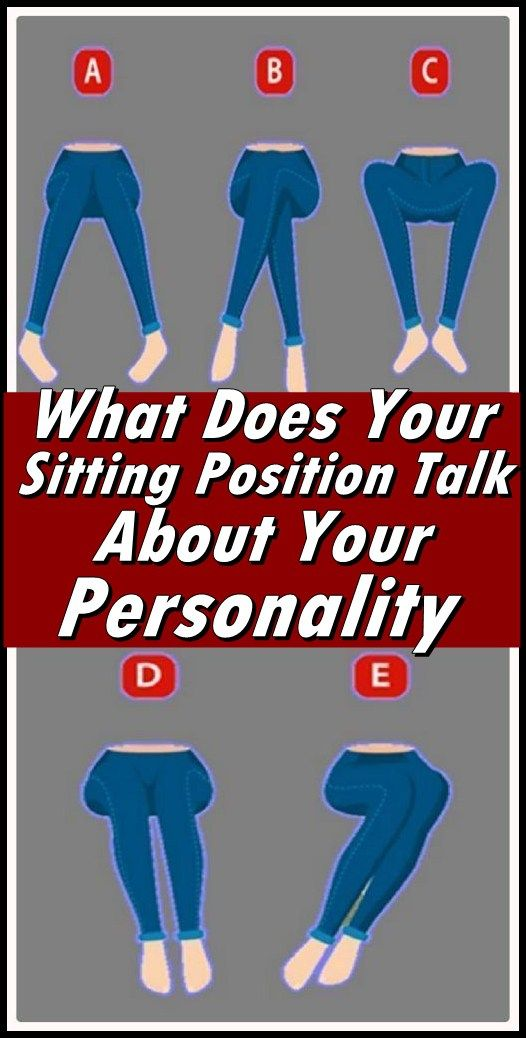 What Does Your Sitting Position Talk About Your Personality  #wieghtloss  #beautyhacks
