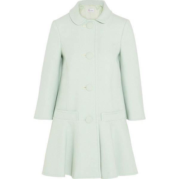 RED Valentino Cotton-blend coat found on Polyvore