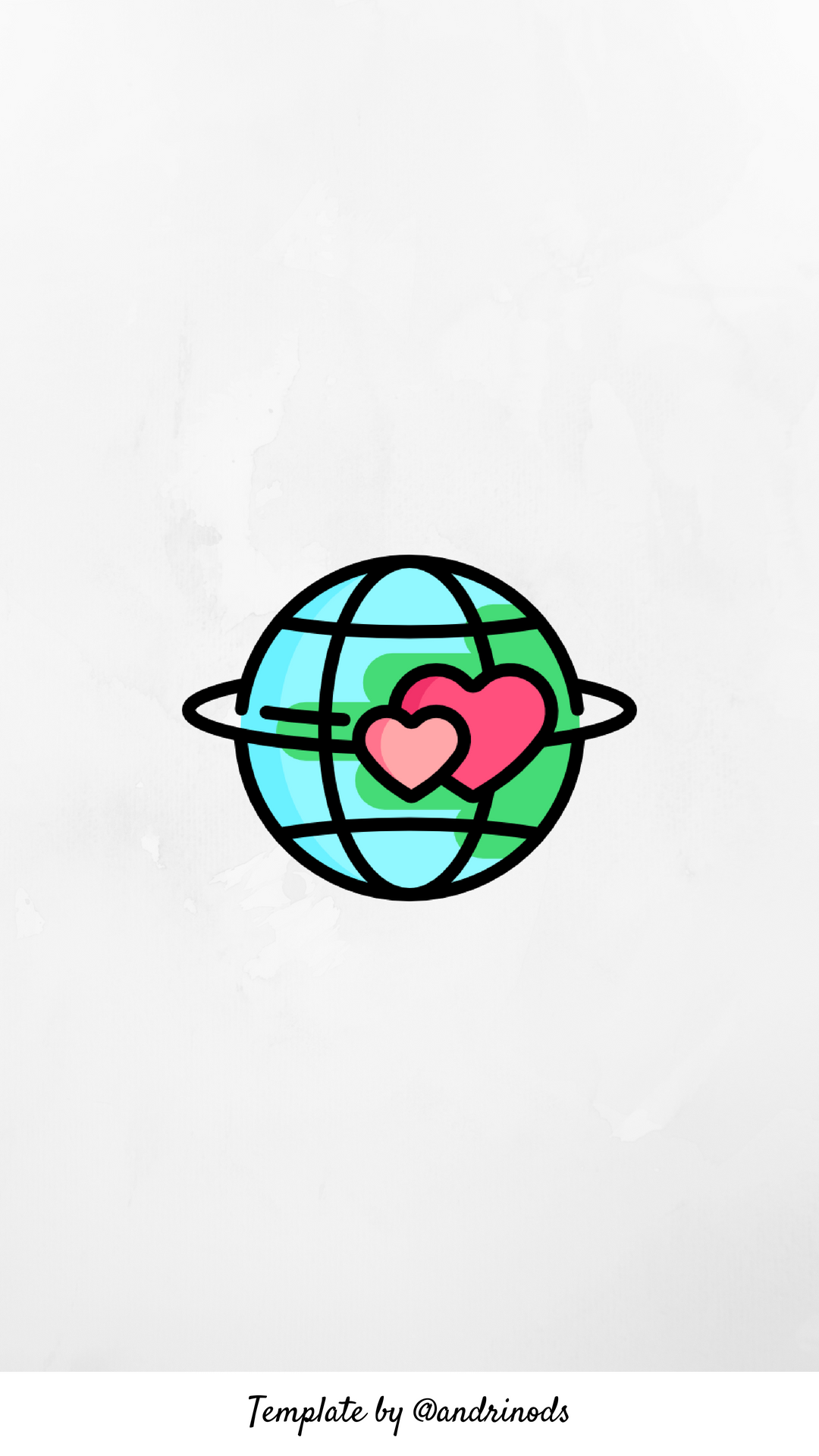 travel Instagram highlight icons, Easy drawings, Cute