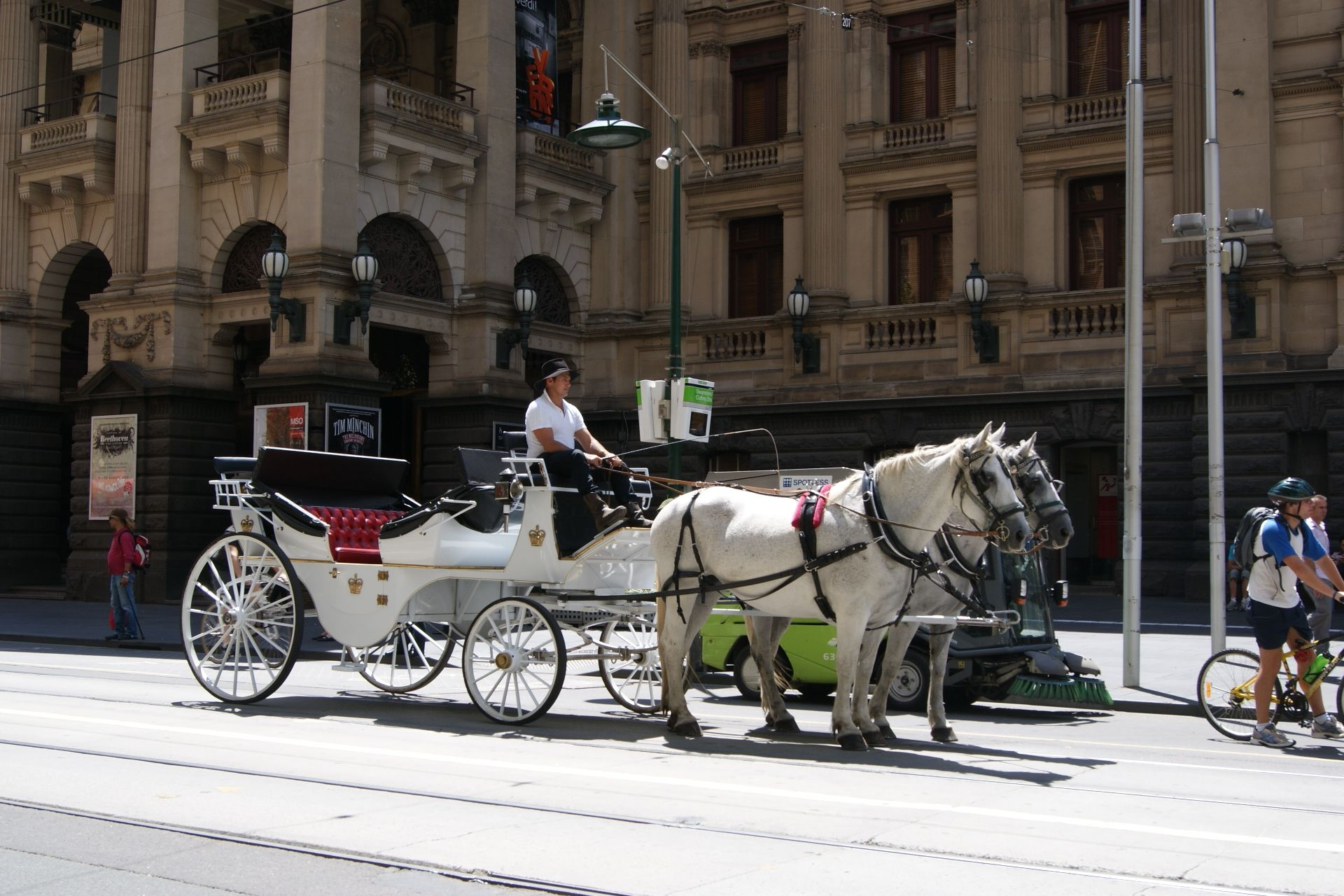 Travel Horse Carriage, Melbourne, Australia. Photo D