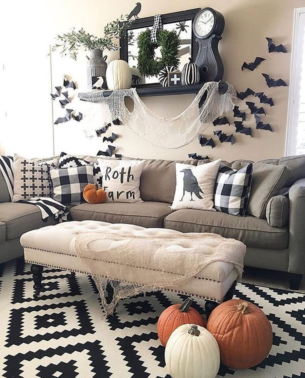 Decoomo Trends Home Decoration Ideas Halloween Living Room Halloween Home Decor Fall Home Decor