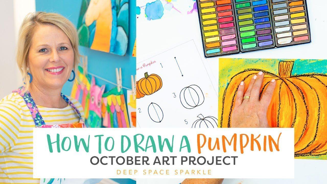 Video Art Class Drawing Lessons Pumpkin Drawing Art Lesson Plans
