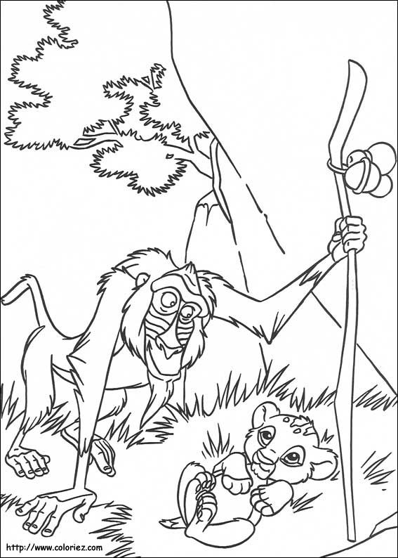 Coloriage Roi Lion Horse Coloring Pages Disney Coloring Pages