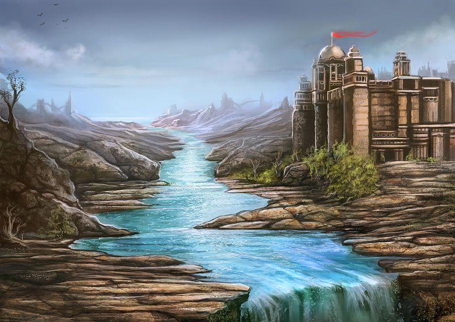 CREATIONWARRIOR: professional illustrator | Landscapes